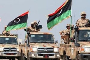 عاجل.. الجيش الليبي يدك مواقع تابعة للمليشيات المسلحة