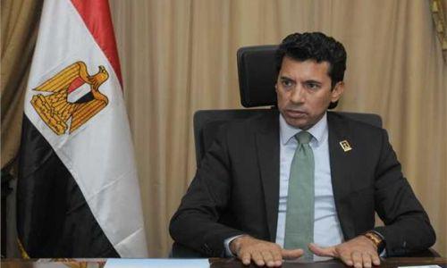 وزير الرياضة: هناك أسس واشتراطات لعودة الدورى العام