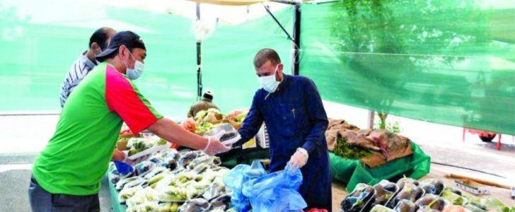 سوق مؤقت في «خالدية المدينة المنورة»