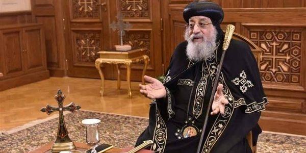 غدا.. البابا تواضروس يلقي عظة الأحد على الفضائيات المصرية