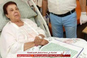 """خاص لـ""""الفجر الفني"""".. طبيب رجاء الجداوي ينفي خروجها من العناية المركزة"""
