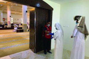 95 متطوعا يشاركون في «بيوت الرحمن»