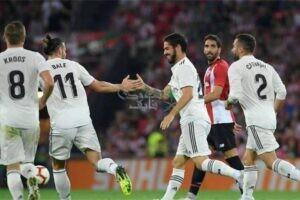 موعد مباراة ريال مدريد وأتلتيك بيلباو في الدوري الإسباني